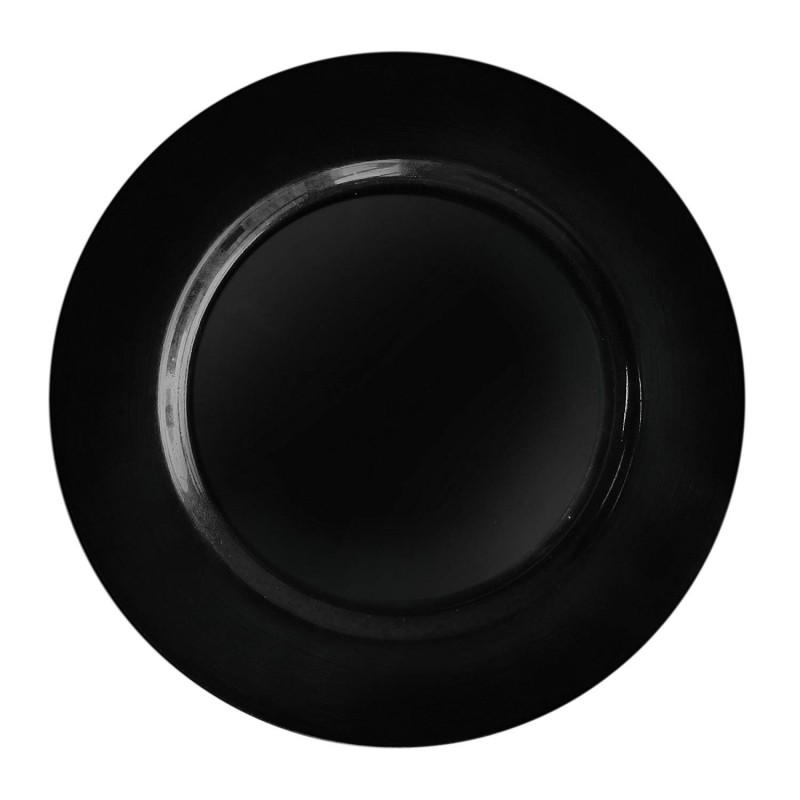 ChargeIt by Jay Black Round Charger Plate