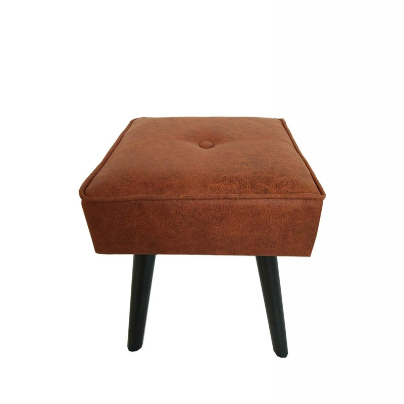 Design Guild 1230222-BR Robin Foot Stool, Brown