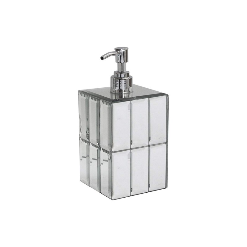 American Atelier 1281222 Agate Dispenser Lotion Dispenser, Silver