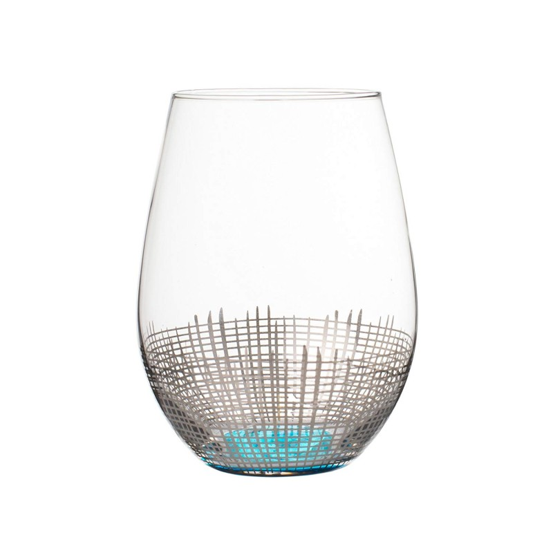 Fitz and Floyd 229141-4ST Stemless Goblets