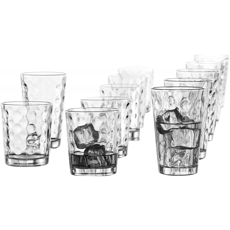 Style Setter Provence Glasses Set, Set of 12