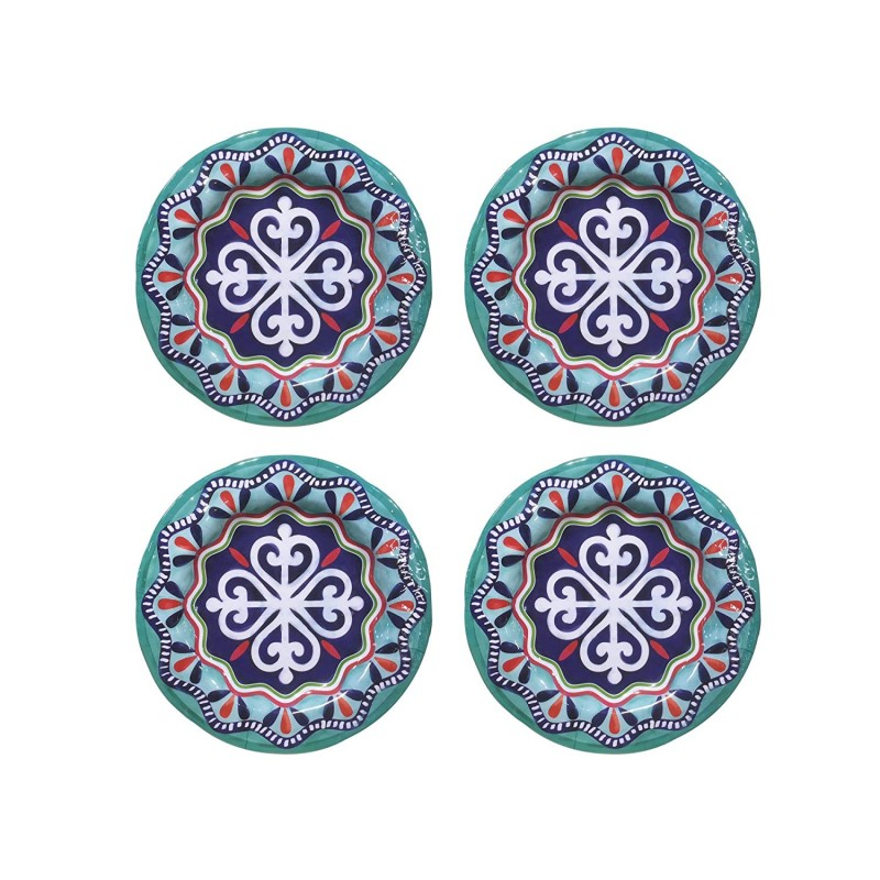 American Atelier Impression Set of 4 Salad Plates