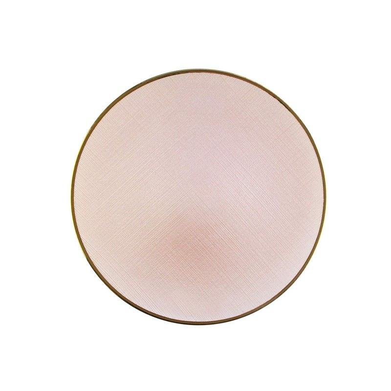 ChargeIt by Jay Laurel Glass Charger Plate, Pink