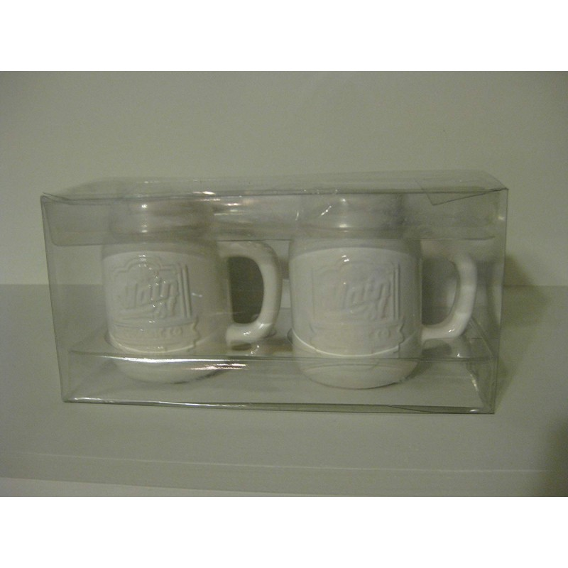 American Atelier Main Street Salt & Pepper Shaker Set, White