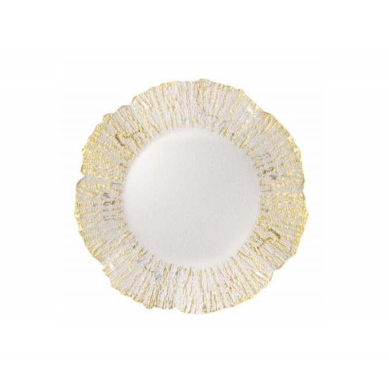 ChargeIt by Jay Deniz Flower Shape Charger Plate