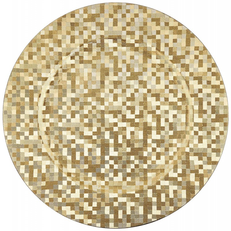 ChargeIt by Jay Gold Mosaic Charger Plate