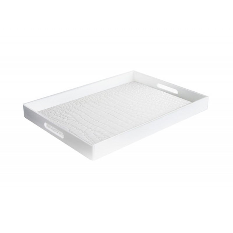 American Atelier Alligator Rectangle Tray